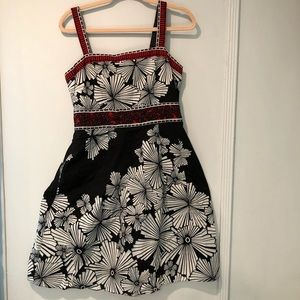 Adrianna Papell |  printed dress size 12